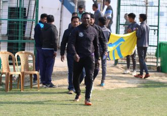 Mohammedan Sporting head coach Saheed Ramon. (Photo courtesy: Mohammedan Sporting Club)