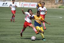 Indian Women's League (IWL) match action between Sethu FC and BBK DAV FC. (Photo courtesy: AIFF Media)