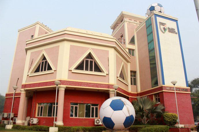 The AIFF Football House in New Delhi. (Photo courtesy: AIFF Media)
