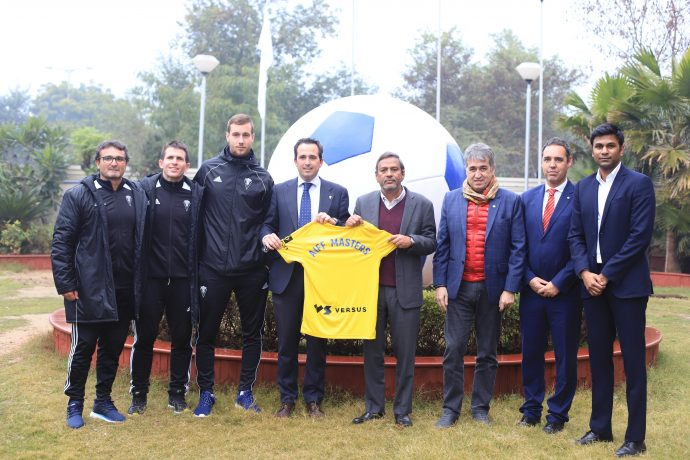 The All India Football Federation (AIFF) has launched its Football Masters Course in cooperation with Spanish side Cádiz CF. (Photo courtesy: AIFF Media)