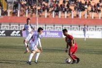 I-League match action between TRAU FC and Aizawl FC. (Photo courtesy: I-League Media)