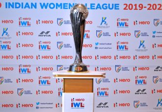 The Hero Indian Women's League (IWL) trophy. (Photo courtesy: AIFF Media)