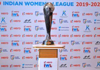 The Hero Indian Women's League (IWL) trophy. (Photo courtesy: AIFF Media)