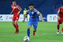 Indian national team captain Sunil Chhetri. (Photo courtesy: AIFF Media)