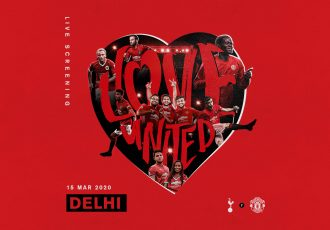 Manchester United's #ILOVEUnited returns to Delhi. (Image courtesy: Manchester United)