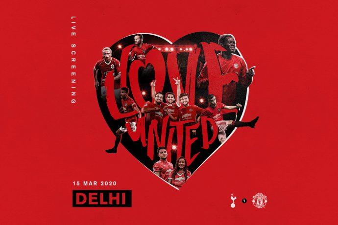 Manchester United's #ILOVEUnited returns to Delhi. (Image courtesy: Manchester United)