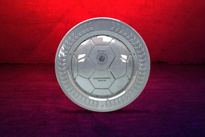 The ISL League Winners Shield. (Image courtesy: Indian Super League)
