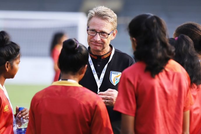 India U-17 Women's national team head coach Thomas Dennerby. (Photo courtesy: AIFF Media)