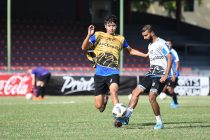 Bengaluru FC training session at the Maldives National Football Stadium, in Male, Maldives. (Photo courtesy: Bengaluru FC)