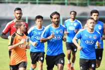 Bengaluru FC players during a training session. (Photo courtesy: Bengaluru FC)