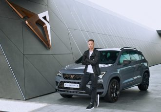 Marc ter Stegen will drive one of the 1,999 units of the CUPRA Ateca Limited Edition. (Photo courtesy: CUPRA)