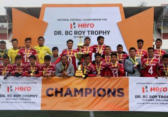 2020 Dr BC Roy Trophy champions Mizoram. (Photo courtesy: AIFF Media)