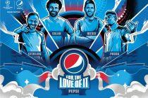 #FORTHELOVEOFIT – Pepsi® premieres its 2020 international football campaign. (© PRNewsfoto/PepsiCo)