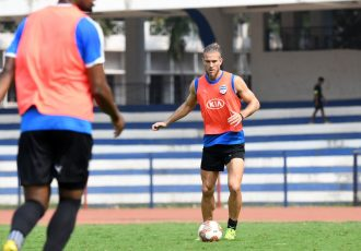 Bengaluru FC midfielder Erik Paartal. (Photo courtesy: Bengaluru FC)