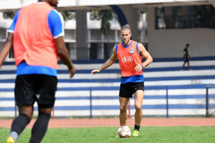 Bengaluru FC midfielder Erik Paartal. (Photo courtesy: Bengaluru FC)