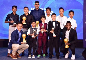The awards winners of the BFC Annual Awards Night 2020. (Photo courtesy: Bengaluru FC)