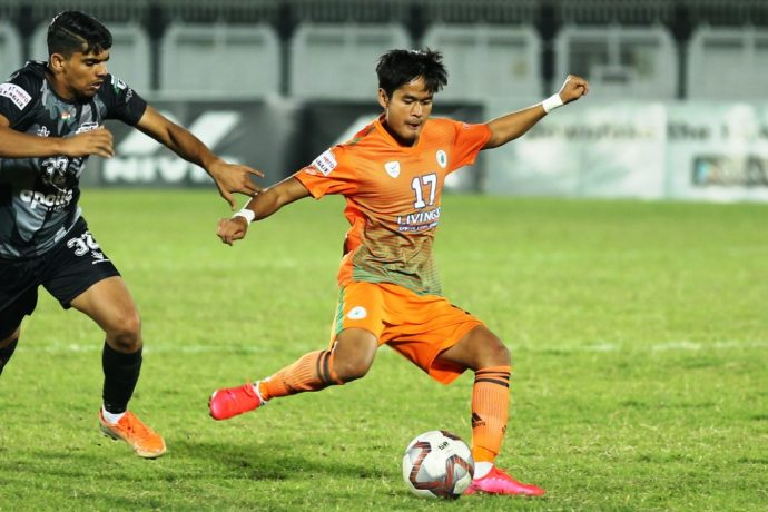 Hero I-League match action between Neroca FC and Punjab FC. (Photo courtesy: I-League Media)
