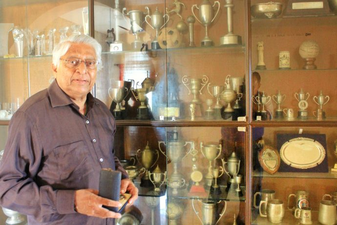 Former Indian national team captain Subimal Goswami, who was popularly known as Chuni Goswami. (Photo courtesy: AIFF Media)