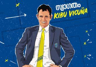 Kerala Blasters welcome their new head coach José Antonio Vicuña Ochandorena, popularly known as Kibu. (Image courtesy: Kerala Blasters FC)