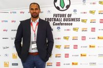 Chris Punnakkattu Daniel at the FUTURE OF FOOTBALL BUSINESS Conference in Graz, Austria. (© CPD Football)