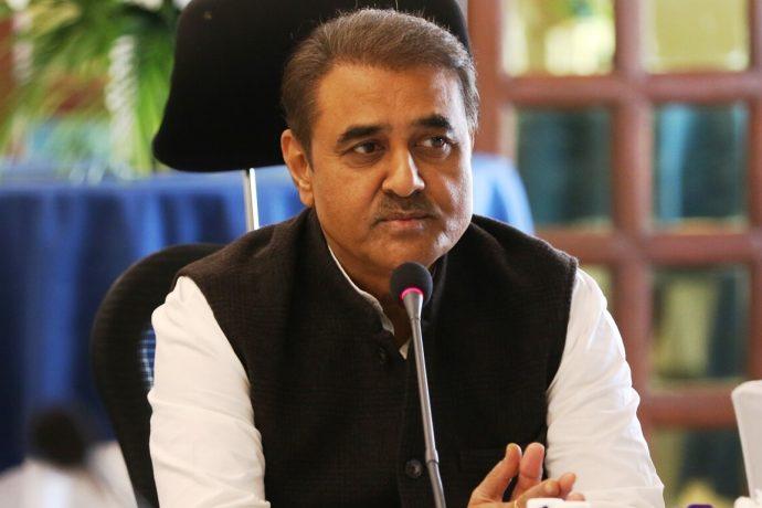 All India Football Federation President Praful Patel. (Photo courtesy: AIFF Media)