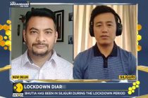 WION's Sports Editor Digvijay Singh De and Indian football icon Bhaichung Bhutia. (Photo courtesy: Screenshot WION)