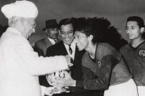 File picture of Indian football legend Chuni Goswami. (Photo courtesy: AIFF Media)