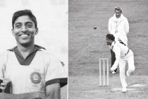 File pictures of Indian football legend Chuni Goswami and cricketer Dilip Doshi. (Photo courtesy: AIFF Media)