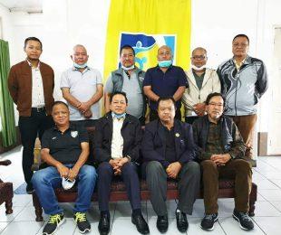 Mizoram Football Association Office Bearer's meeting. (Photo courtesy: Mizoram Football Association)
