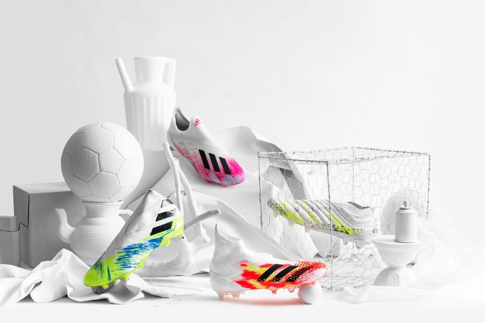 The new adidas UNIFORIA boot pack with striking new colour designs across the Predator, Nemeziz, Copa and X franchises. (Photo courtesy: adidas)