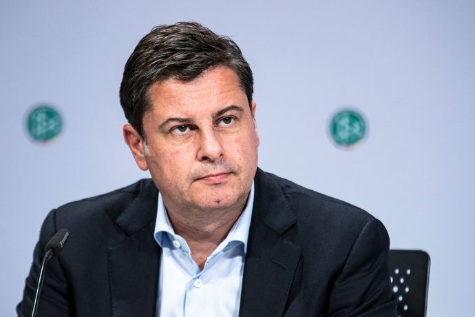 DFL Deutsche Fußball Liga CEO and DFB Deutscher Fußball-Bund Vice-President Christian Seifert. (© Thomas Böcker/DFB)