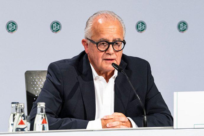 Deutscher Fußball-Bund (DFB) President Fritz Keller. (© Thomas Böcker/DFB)