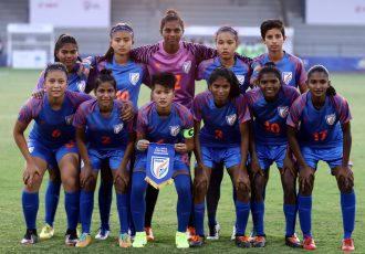 The Indian U-17 Women's national team. (Photo courtesy: AIFF Media)