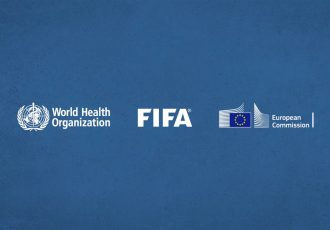 The World Health Organization (WHO), FIFA and the European Commission have joined forces to launch the #SafeHome campaign. (Image courtesy: FIFA)