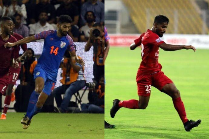 Nikhil Poojary (left) and Vinil Poojary (right) aim to fulfil their parents' lifelong Blue Tigers dream. (Photo courtesy: AIFF Media)