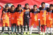 Participants of the Golden Baby Leagues. (Photo courtesy: AIFF Media)