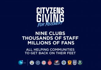 Cityzens Giving For Recovery (Image courtesy: City Football Group)