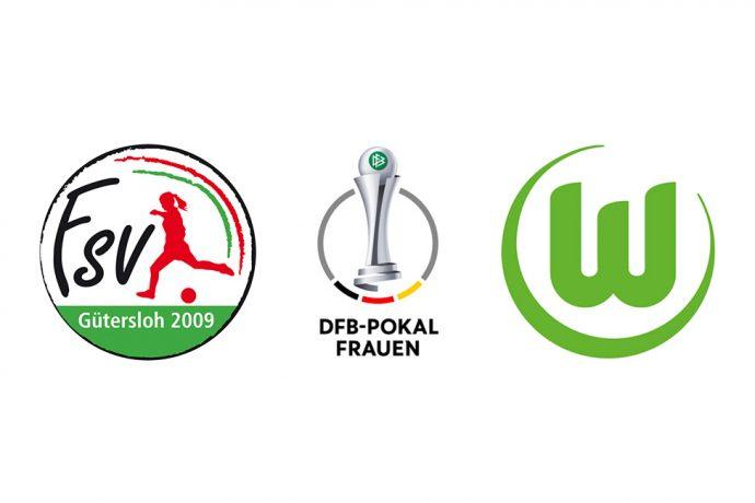 DFB-Pokal der Frauen - FSV Gütersloh 2009 vs VfL Wolfsburg
