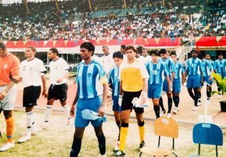 Down the memory lane: The Indian national team in 2005. (Photo courtesy: AIFF Media)