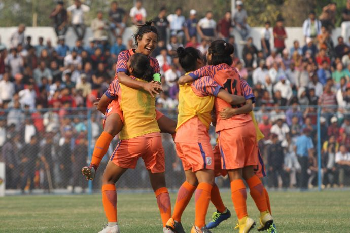 Indian Women's national team. (Photo courtesy: AIFF Media)