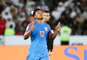 Indian national team striker Jeje Lalpekhlua. (Photo courtesy: AIFF Media)