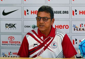 Sanjoy Sen (Photo courtesy: AIFF Media)