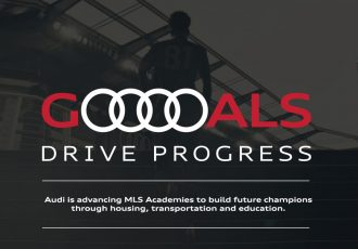 """Audi Goals Drive Progress"": Audi of America and Major League Soccer celebrate the 2020 season and reignite commitment to youth development in North America. (Image courtesy: AUDI AG)"