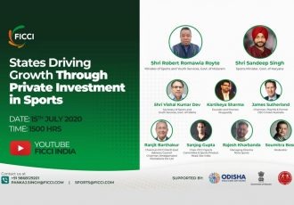"FICCI Webinar on ""States Driving Growth Through Private Investment in Sports"". (Image courtesy: FICCI)"