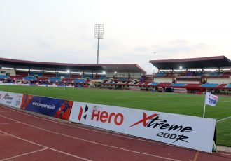 The Kalinga Stadium in Bhubaneswar. (Photo courtesy: AIFF Media)