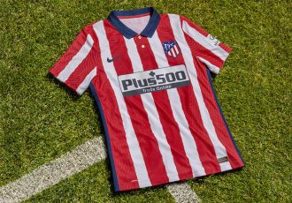 Atlético de Madrid's 2020-21 home kit by Nike. (Photo courtesy: Nike)