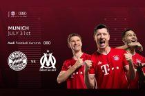 Audi Football Summit - FC Bayern Munich vs Olympique Marseille (Image © AUDI AG)