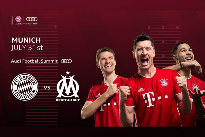Audi Football Summit - FC Bayern Munich vs Olympique Marseille (Image © AUDI AG)