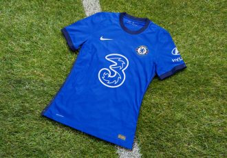 Chelsea FC's 2020-21 home kit blends the latest in athletic innovation with the finesse of fine London tailoring. (Photo courtesy: Nike)