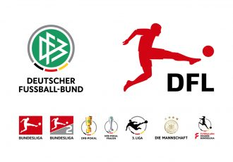 Deutscher Fußball-Bund (DFB) - DFL Deutsche Fußball Liga | Bundesliga | Bundesliga 2 | DFB-Pokal | DFB-Pokal Frauen | 3. Liga | Die Mannschaft | Flyeralarm Frauen-Bundesliga